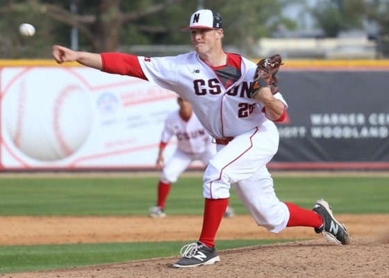 CSUN holds off George Mason behind strong pitching