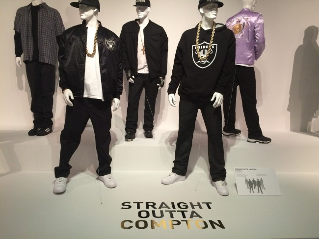 """Straight Outta Compton"" Costumes by Kelli Jones (Hannah Brunelli /The Sundial)"