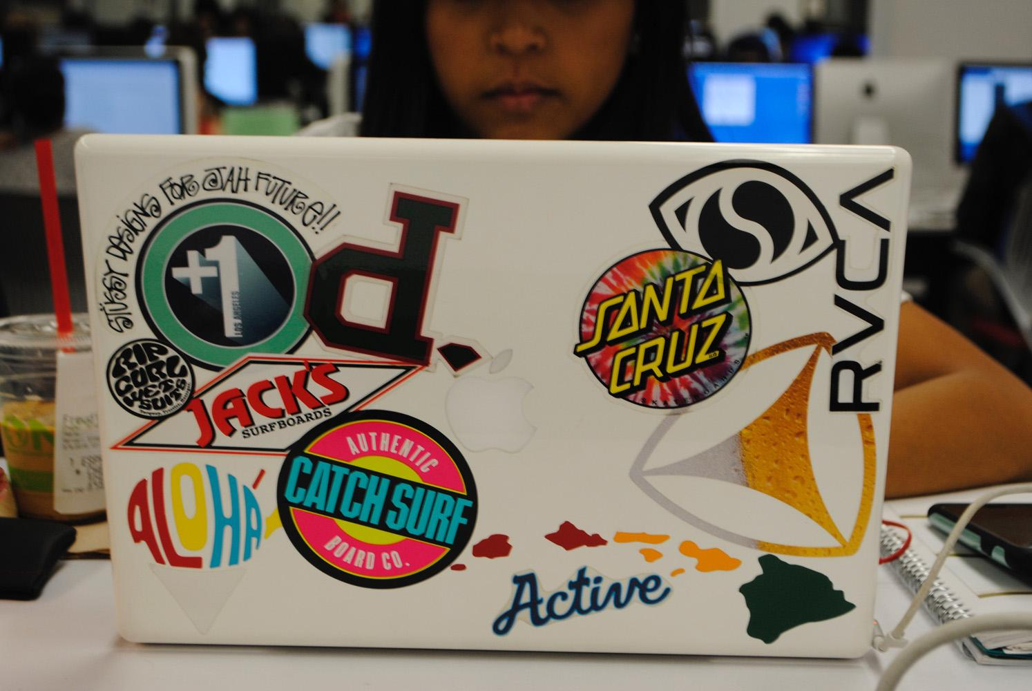 What Do The Stickers On Your Laptop Say About You The Sundial
