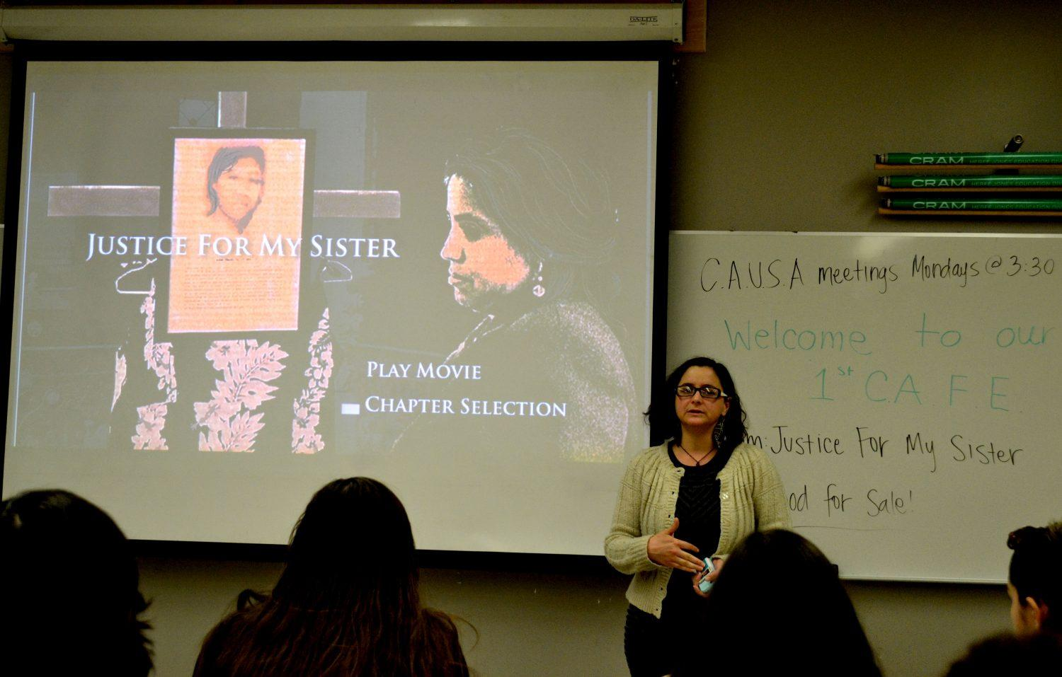 Guatemalan-based documentary informs students about female violence