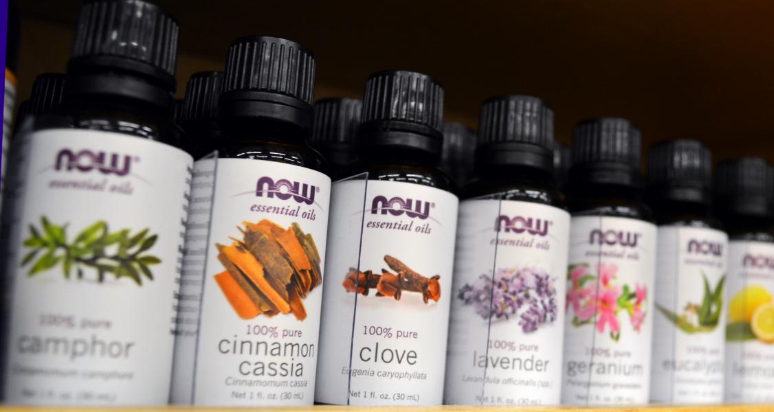 Photo of essential oils