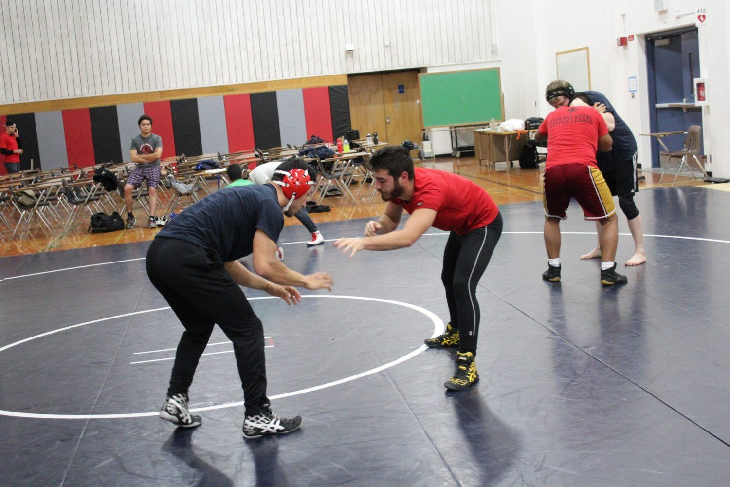 Wrestling club puts students on the mat