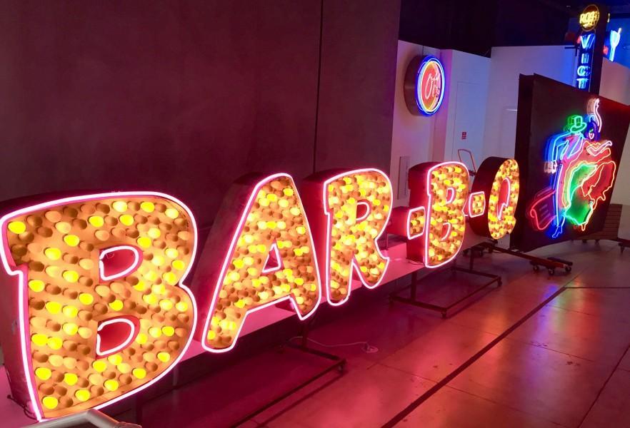 Bar-B-Q marquee