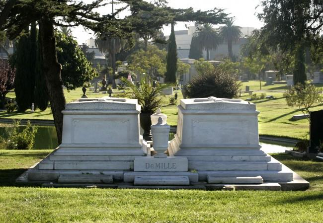 Hollywood Forever Cemetery is home to many beloved movie stars and musicians. (