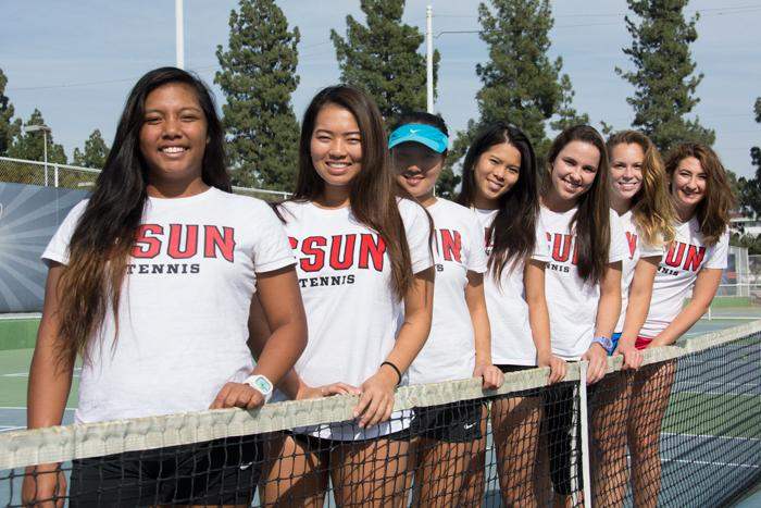 CSUN tennis thrives with linguistic diversity