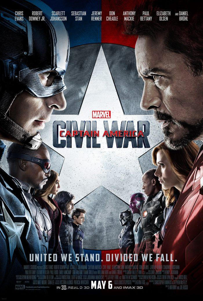 'Captain America: Civil War' image courtesy of Disney
