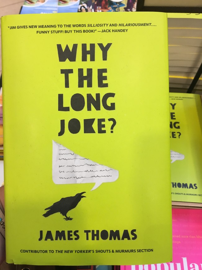 """Why The Long Joke?"" by James Thomas (Kate Haggard/The Sundial)"