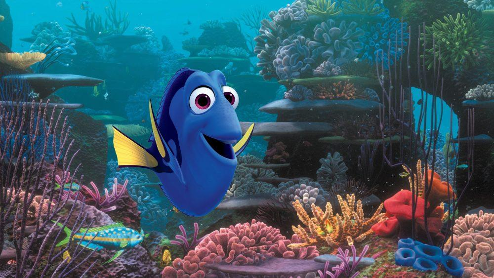 Dory the fish is pictured