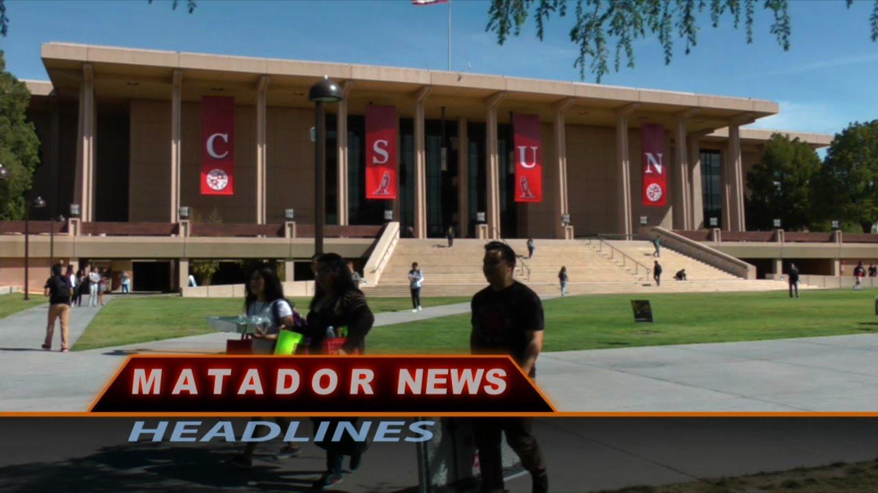 Photo of Oviatt Library for Matador News Headlines