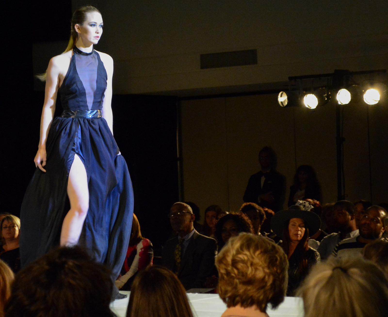 Bailey Kirchberg walks the runway