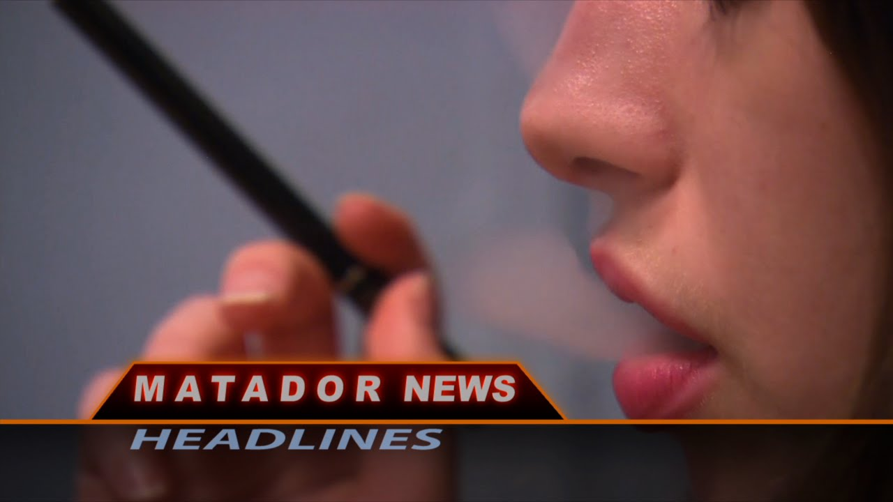 Matador news still shows woman smoking