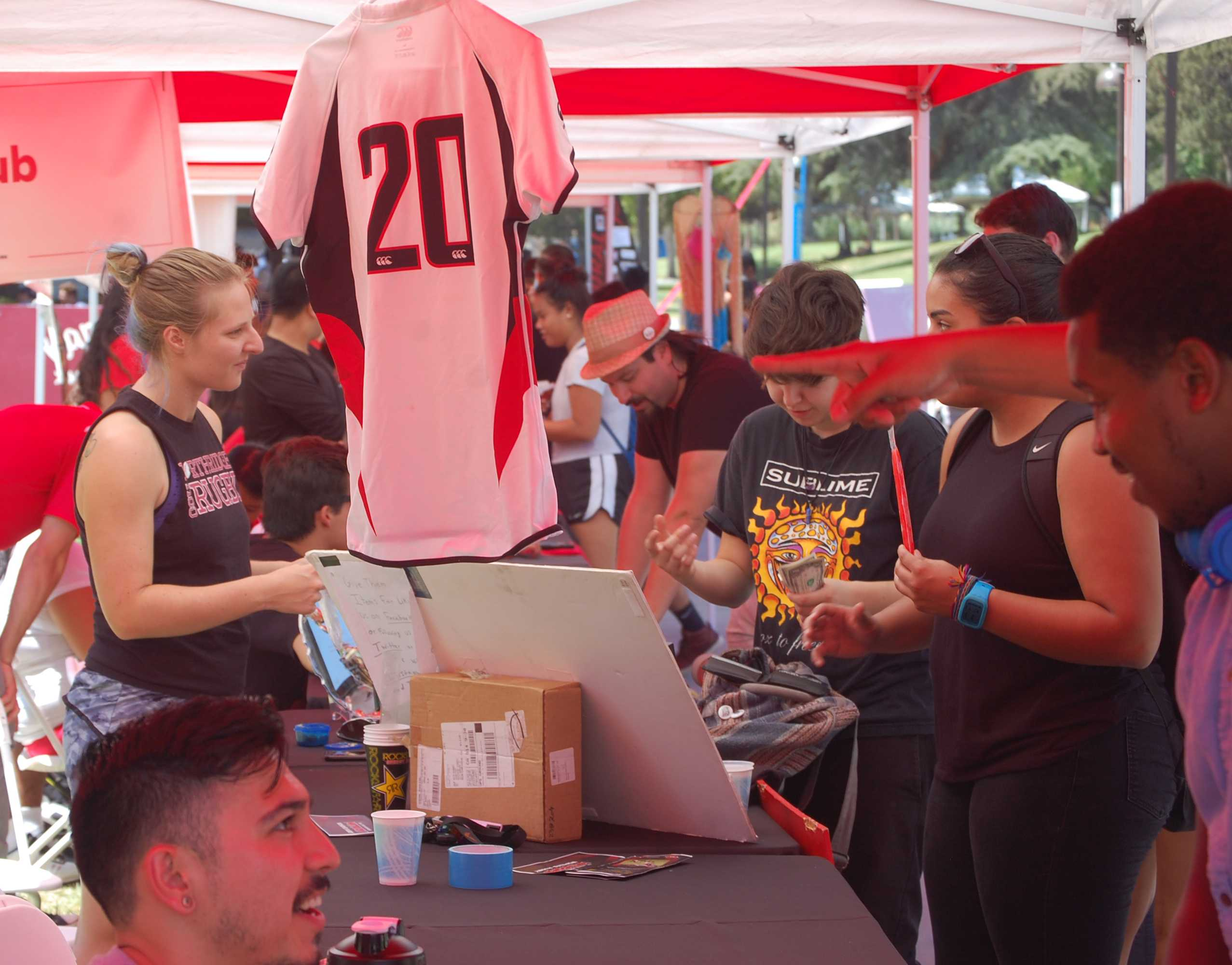 Sports-A-Palooza takes over Matador Walk