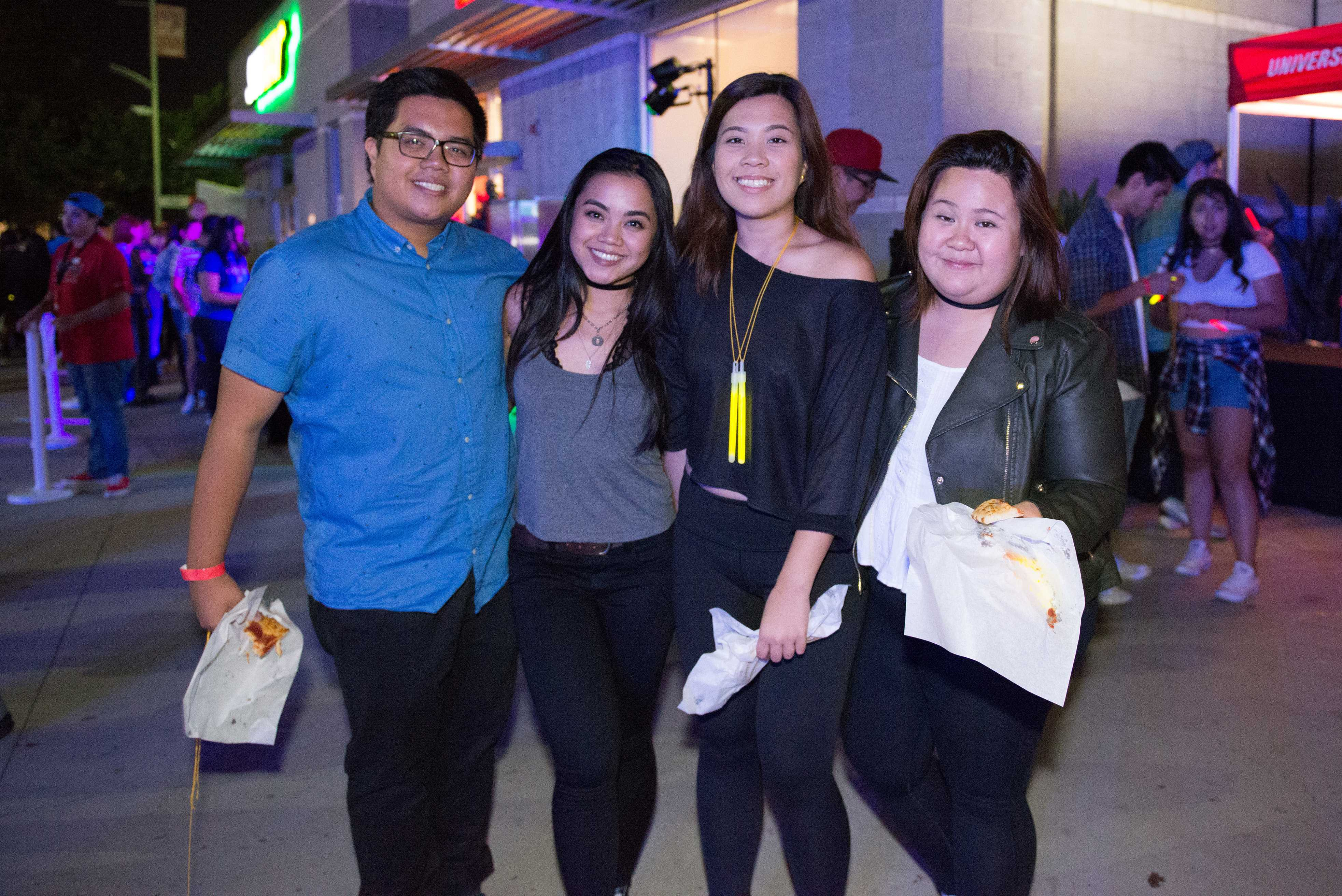 Students enjoy free food at Matador Nights