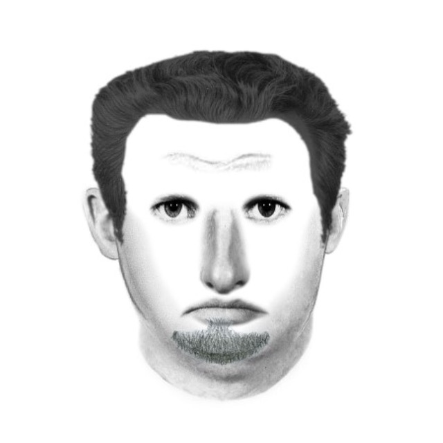 Sketch of the suspect who attempted to kidnap a CSUN student.