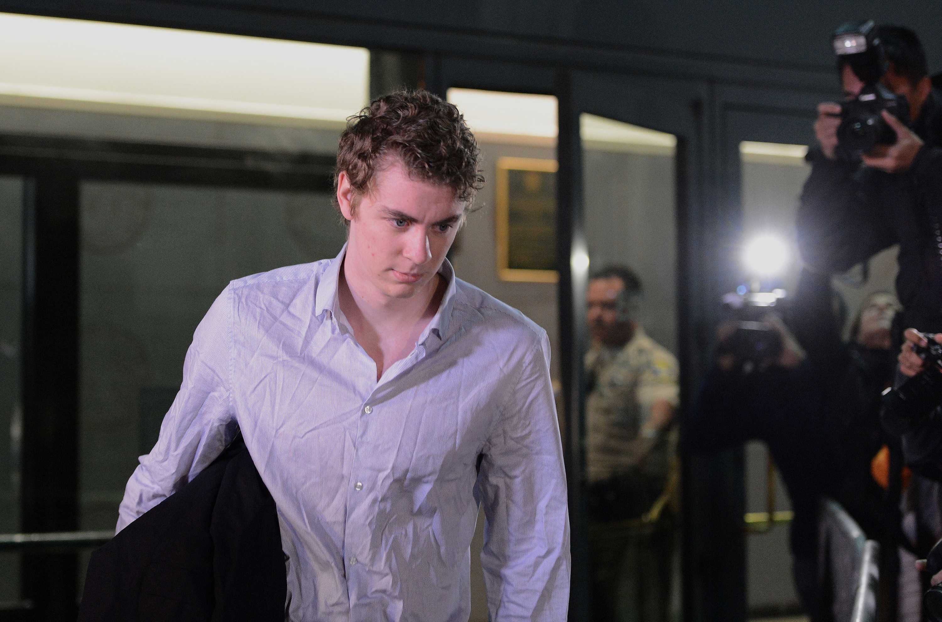 Photo shows Brock Turner