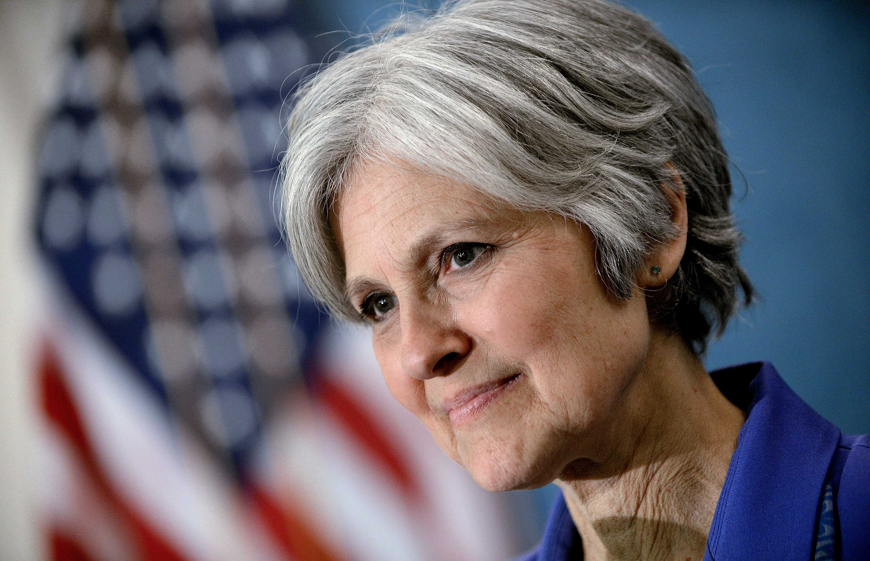 close up of Jill Stein