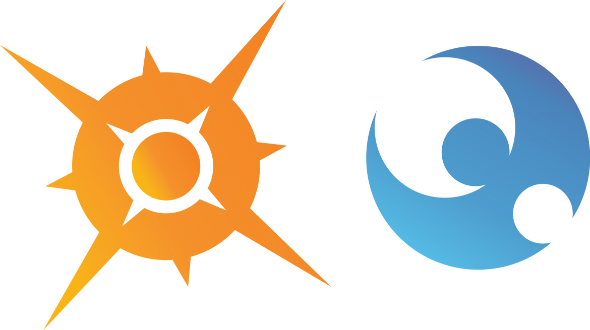 Sun and Moon illustration