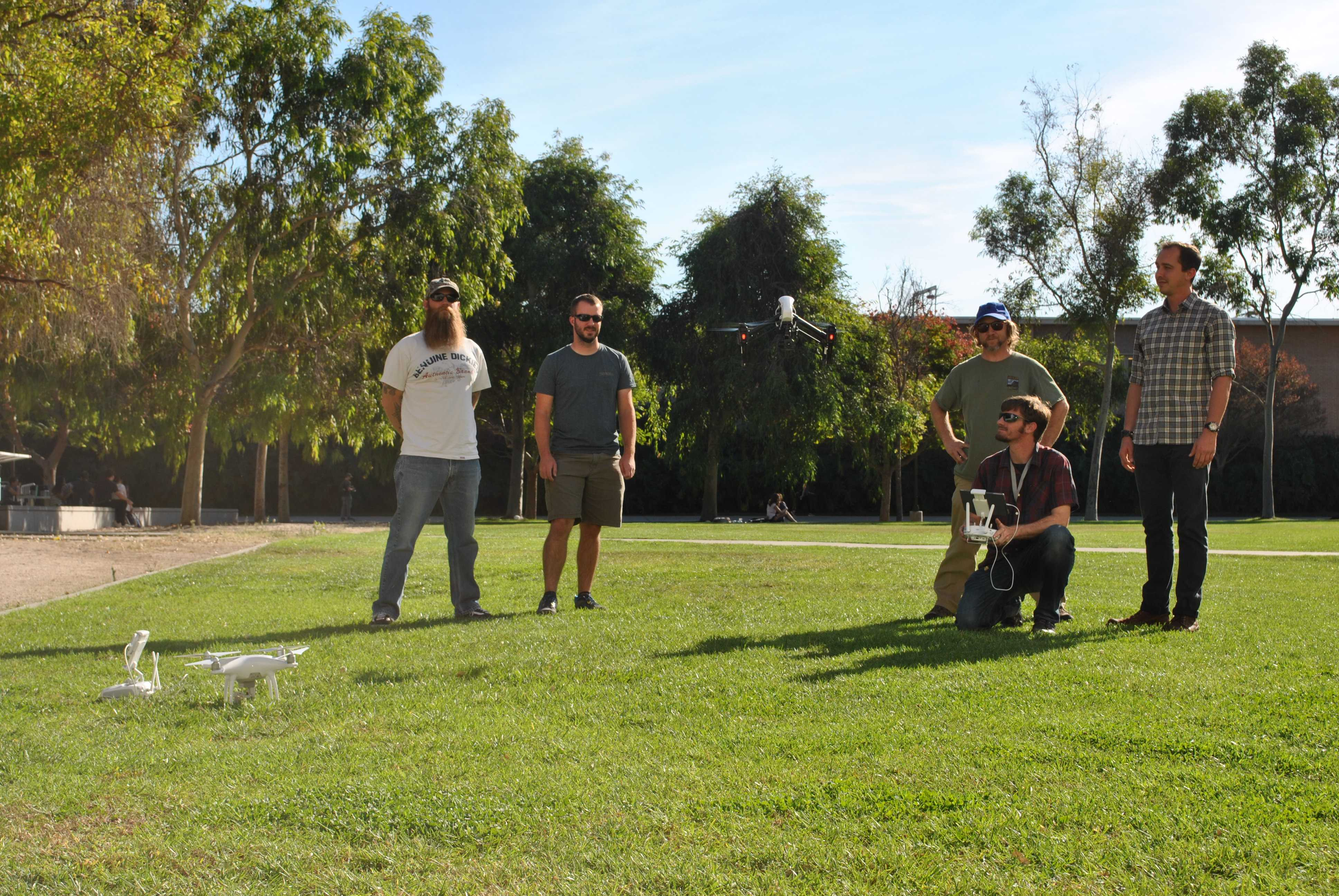 New drone technology helps advance CSUN students with their research