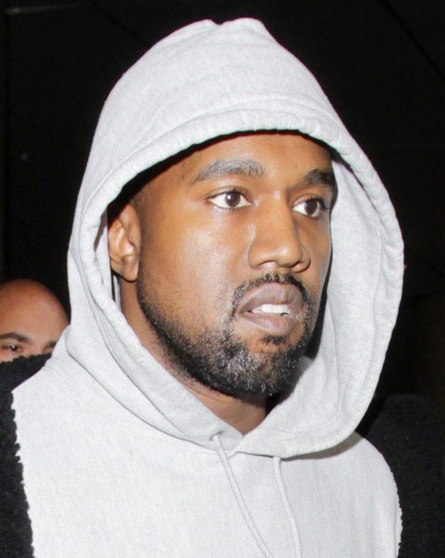 Kanye West close-up