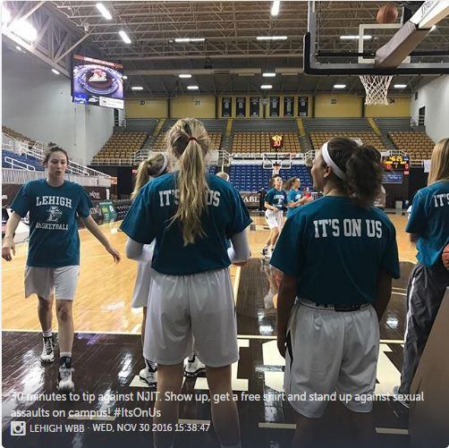 Lehigh women's basketball shirts say,