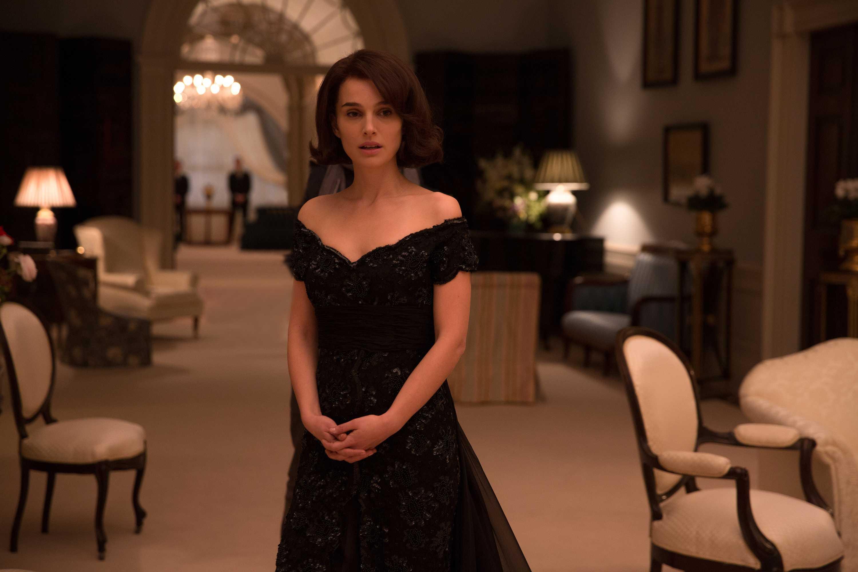 Natalie Portman as Jackie Kennedy in Pablo Larraín's film, Jackie