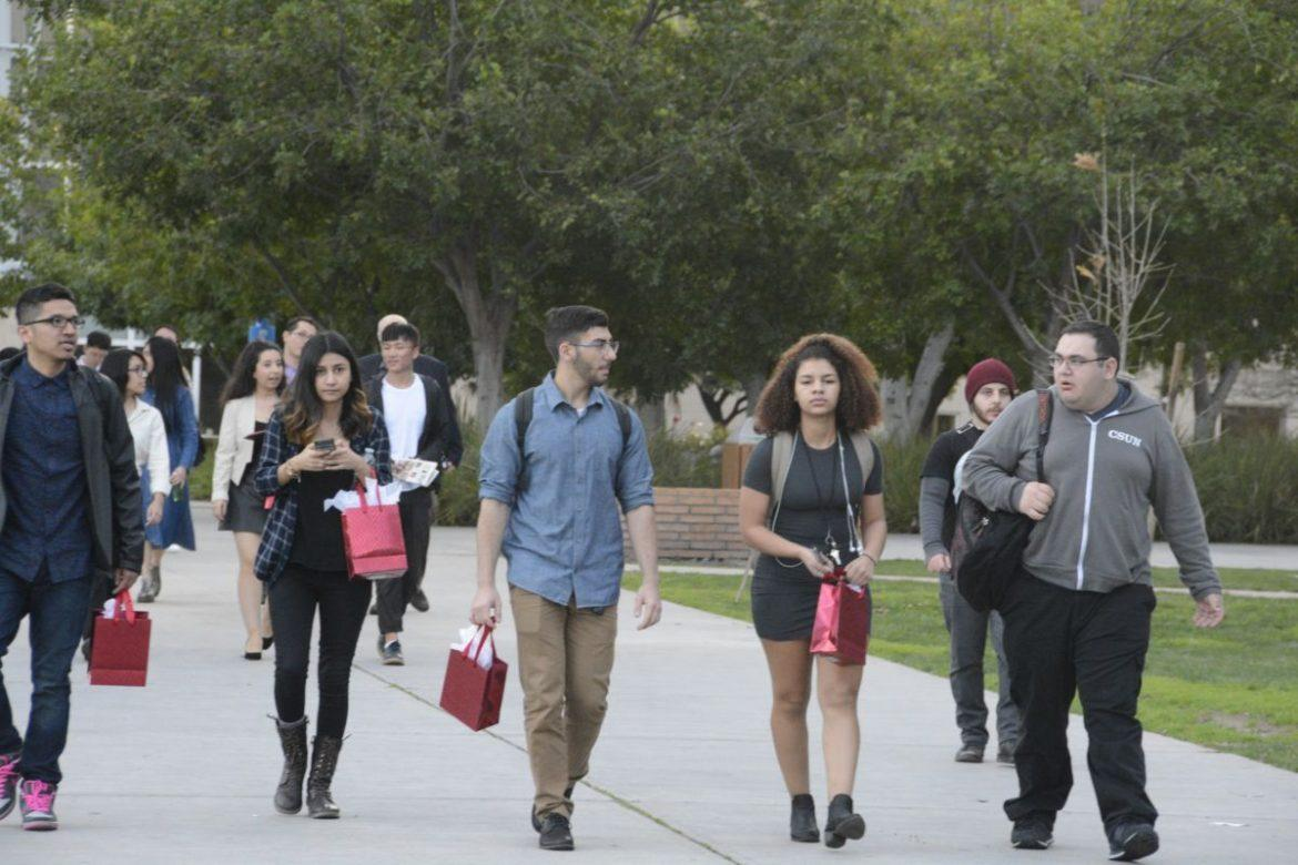 CSUN is one of the most diverse campuses of the CSU system and the country. Photo credit: Ivan Salinas