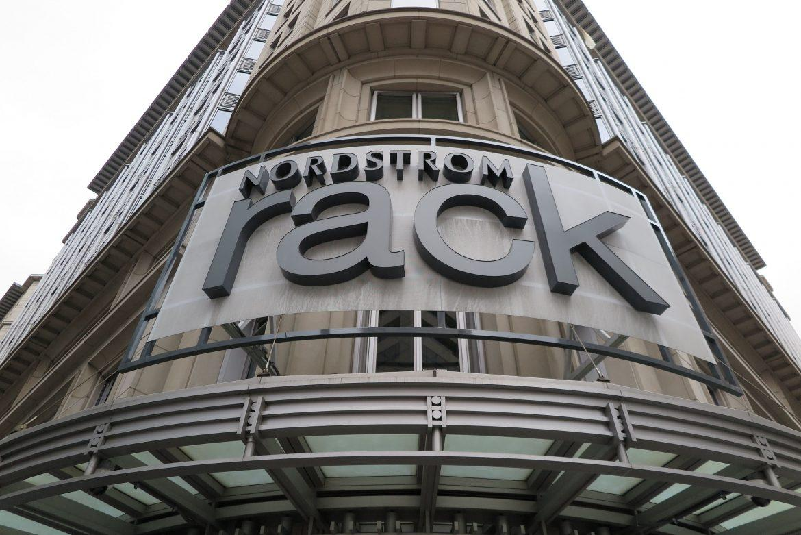 View of a Nordstrom Rack store, an outlet branch of the US-American department store chain Nordstrom, on the 12th Street on February 3, 2017 in Washington, D.C. Nordstrom decided to stop selling the fashion collection of Ivanka Trump, daughter of US-President Donald Trump, due to small sales figures, a Nordstrom spokesperson told the dpa (German Press-Agency). (Vanessa Kockegei/DPA/Zuma Press/TNS)