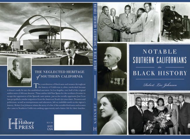 "Author Robert Lee Johnson's book, ""Notable Southern Californians in Black History."" The event will take place in the Jack and Florence Ferman presentation room as part of CSUN's Black History Month events. Photo Courtesy: Robert Lee Johnson."