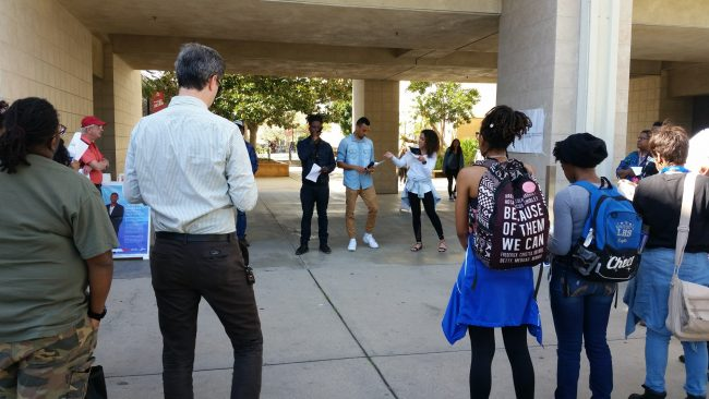 CSUN's NAACP helps students cope with new executive orders