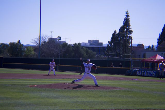 CSUN's baseball bats quietly go down 4-1 against Towson