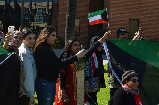 Students celebrate upcoming Kuwait National and Liberation Days