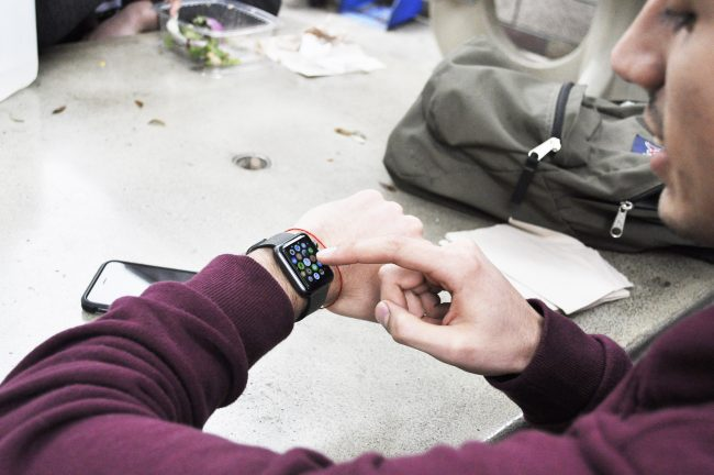 CSUN students have taken advantage of the gadgets available to them