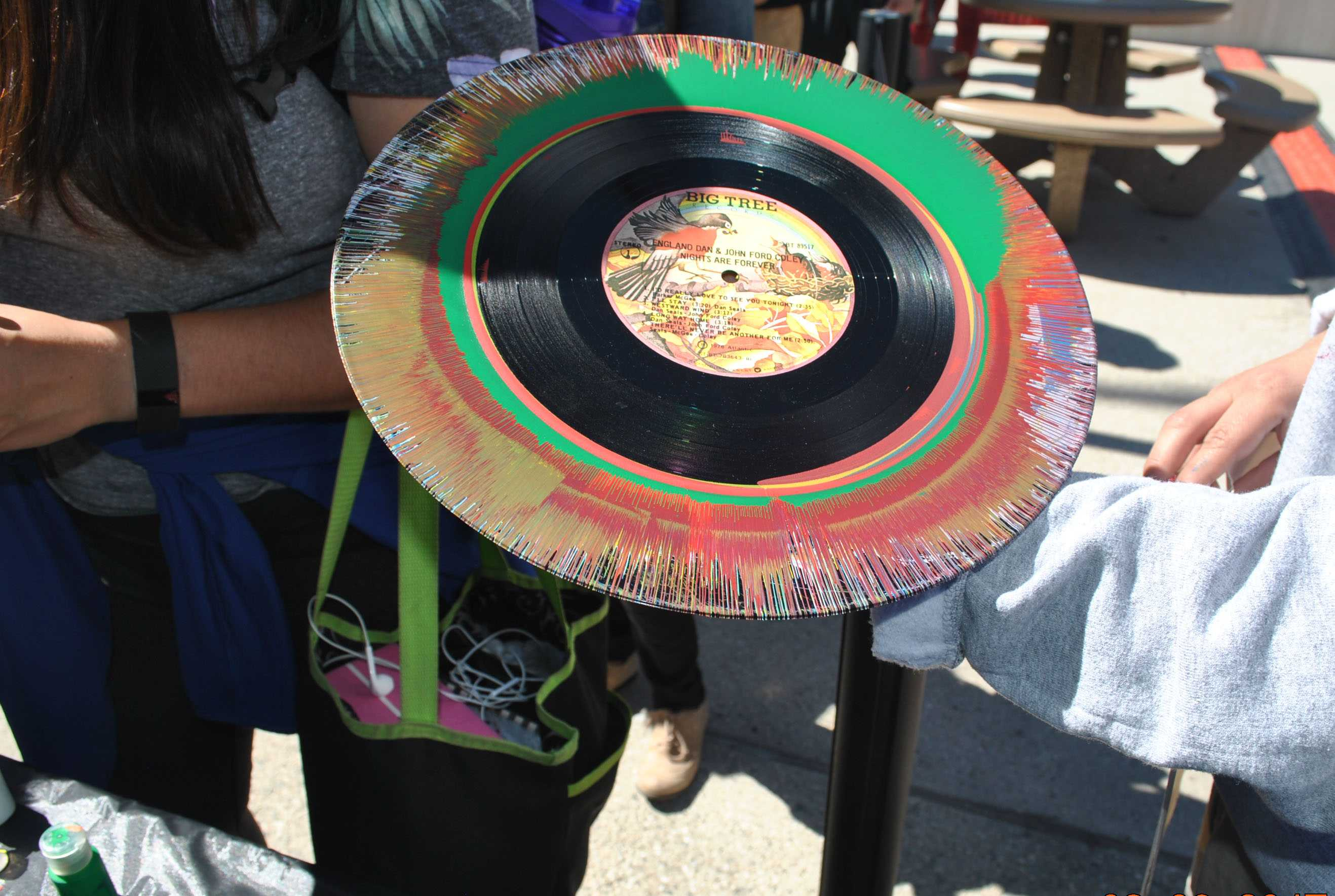 painted record pictured