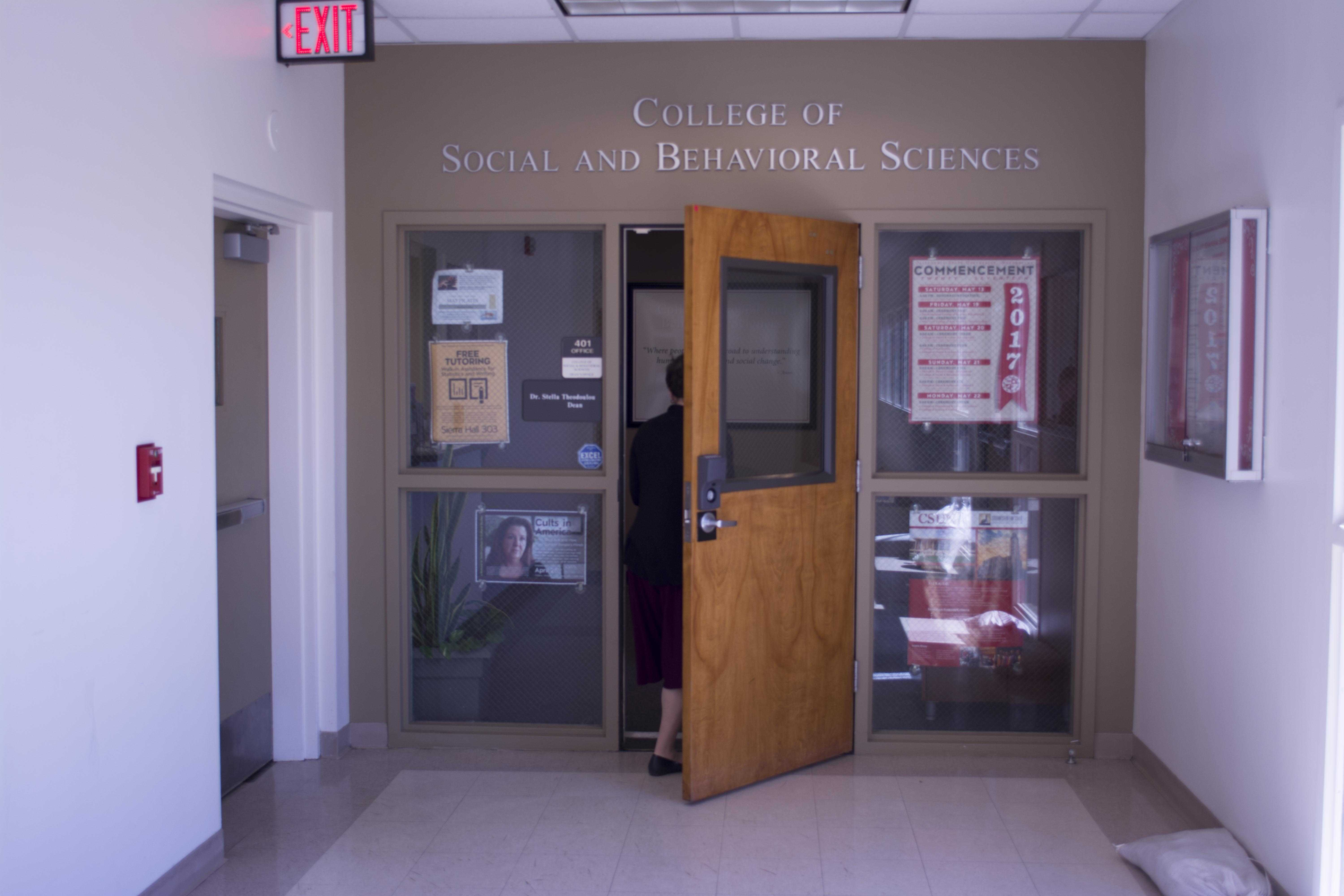 The Criminology Department falls under the College of Social and Behavioral Sciences. Photo credit: Em Pierce