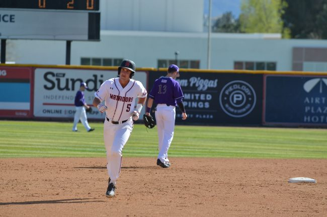 CSUN baseball scores three runs in the ninth inning to beat Aggies