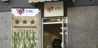 The VRC center is pictured