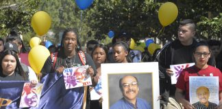 Students walk in honor of Jose Luis Vargas