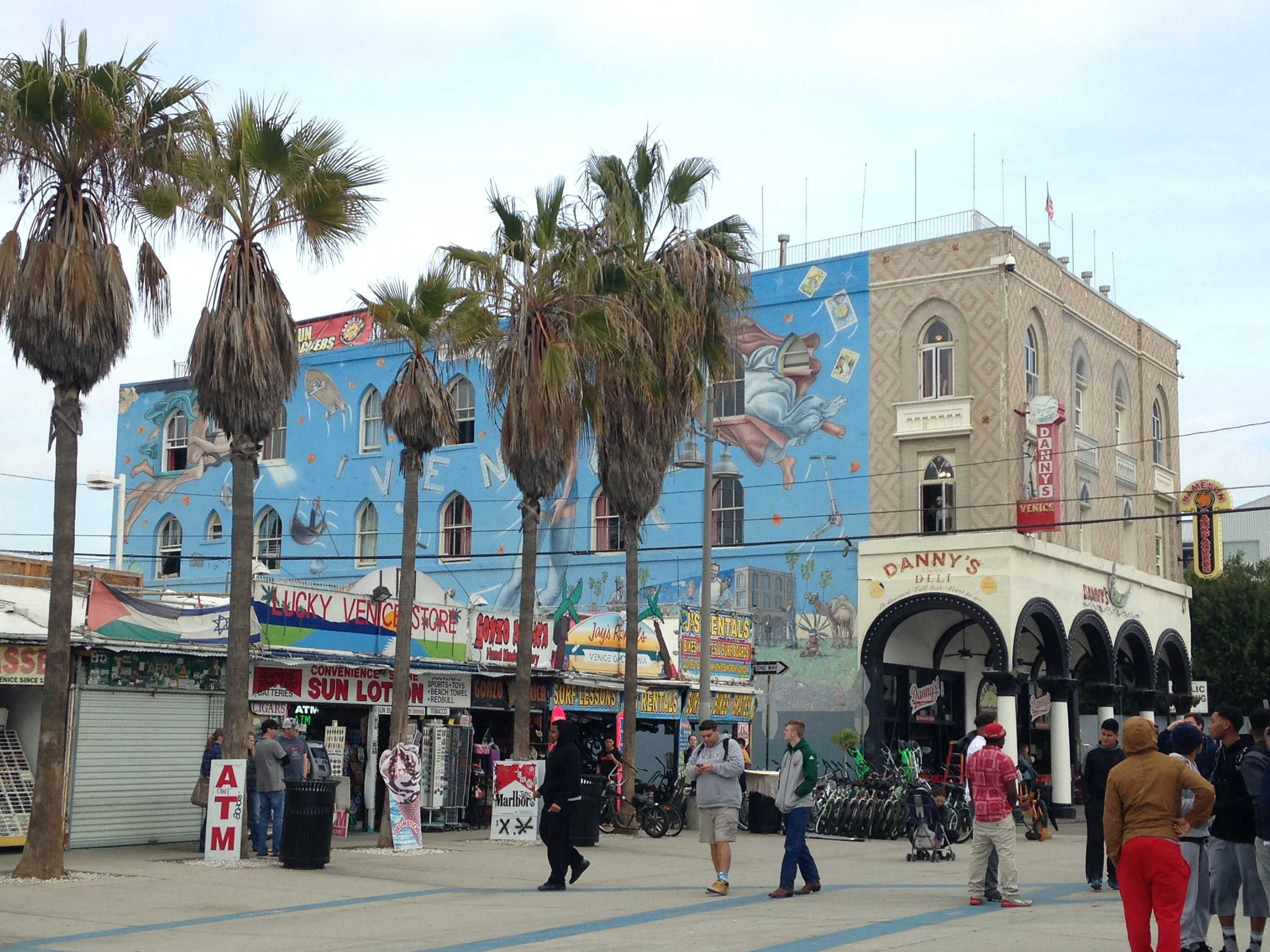 Murals adorn the walls at Venice Beach in Los Angeles. (Jackie Burrell/Bay Area News Group)
