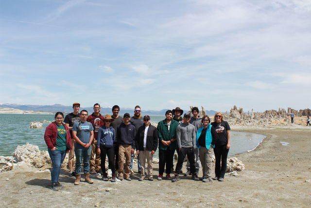 CSUN+geography+students+took+a+trip+outside+of+the+classroom+and+explored+the+Sierra+Mountains
