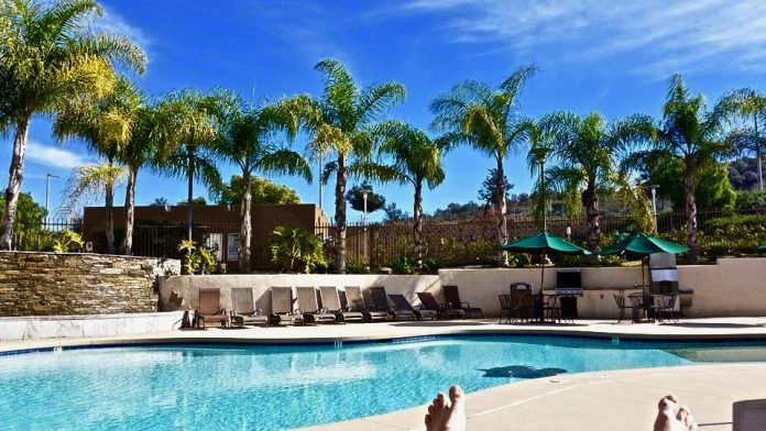 Pool at cal state san marcos pictured