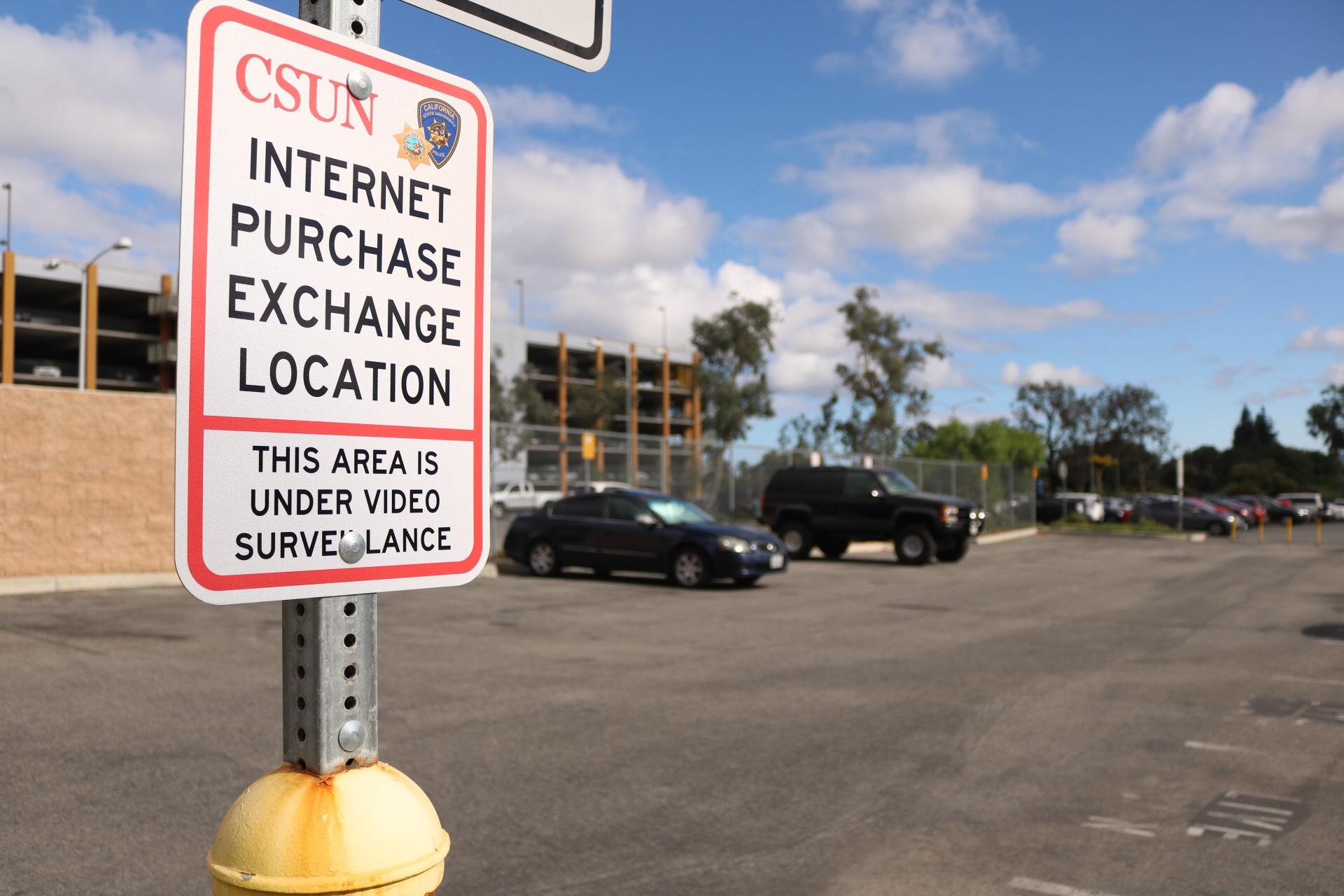 The Internet Purchase Exchange sits on Darby Avenue behind B3 parking structure.