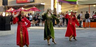 Persian dancers perform at csun