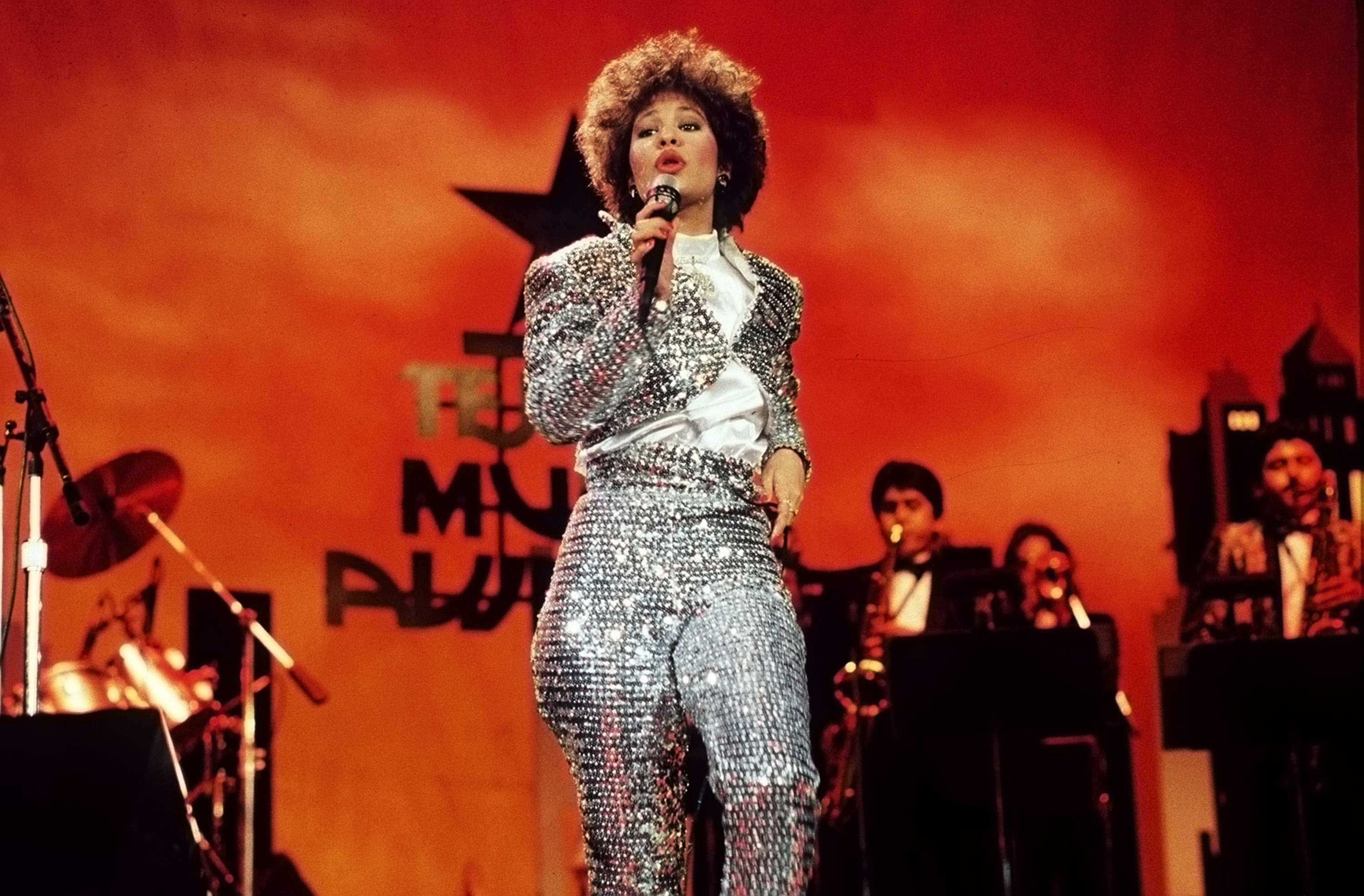 Selena Quinanilla performs during the Seventh Annual Tejano Music Awards on March 23, 1987 in San Antonio, Texas. Mac Cosmetics just announced plans for a Selena makeup line after an online campaign drummed up 37,000 signatures. (Philip Barr/San Antonio Express-News/Zuma Press/TNS)