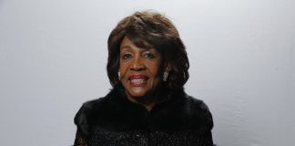 Maxine Waters pictured