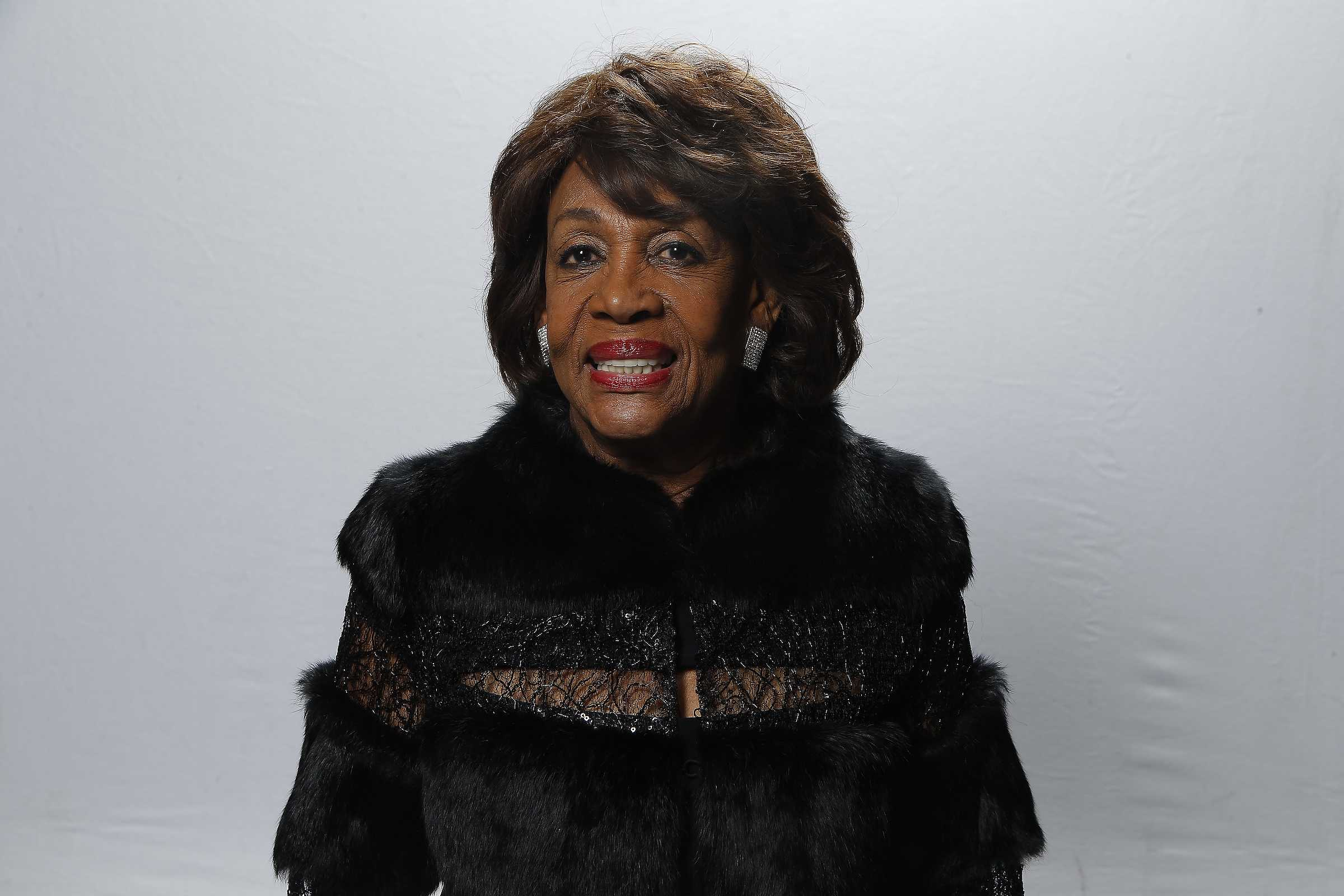 Rep. Maxine Waters (D-Calif.) attends the 48th NAACP Image Awards at Pasadena Civic Auditorium on February 11, 2017, in Pasadena, Calif. Waters was accused this week by Fox News host Bill O'Reilly of having hair that looked like