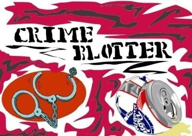Crime blotter April 25 – April 30