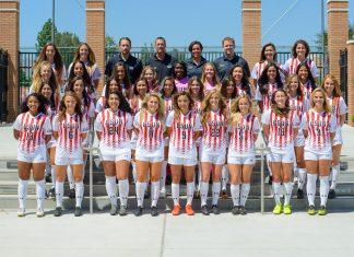 csun womens soccer team pictured