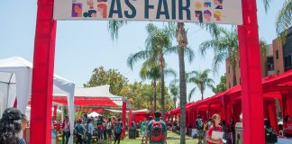 photo shows entryway to the AS Fair