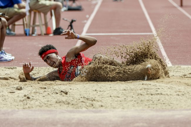 Northridge Athlete Dennis Hicks II Competes for USA Track and Field