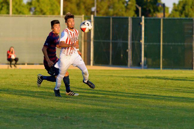CSUN's men's soccer team dominate GCU 4-2